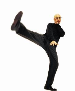 guy kicking