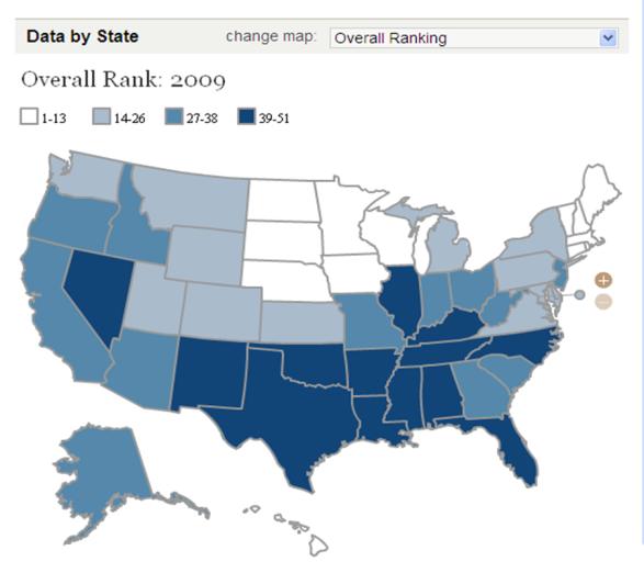 State Health Rankings