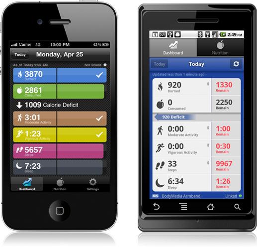 bodymedia iOS 3