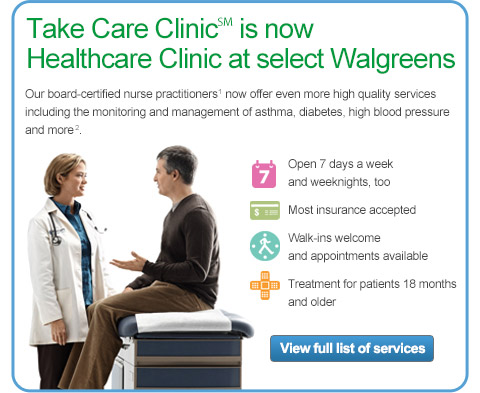 Walgreens Healthcare Clinics